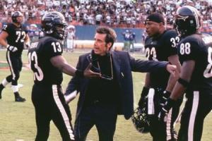 Команда на поле с тренером