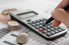 Подсчет прибыли на калькуляторе