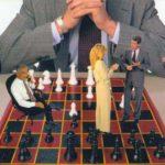 Люди на шахматной доске