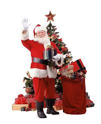 Дед Мороз с подарками и елка
