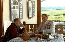 Брежнев и Барон за столом