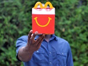 Пачка McDonald's
