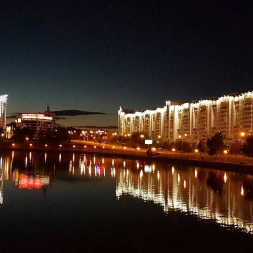 Минск — город живой