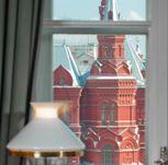 красная площадь вид из окна