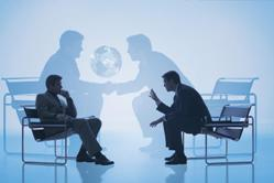 беседа бизнесменов