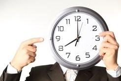 большой циферблат часов