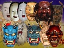разноцветные маски