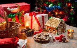 рождество новый год подарки
