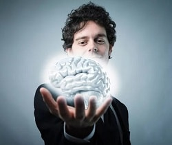 мозг на ладони